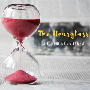 hourglass, hope in change,