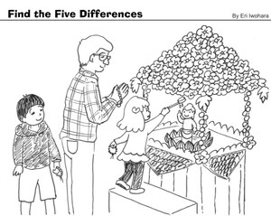 Find the Five Differences!