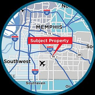 3615 lamar circle map.png