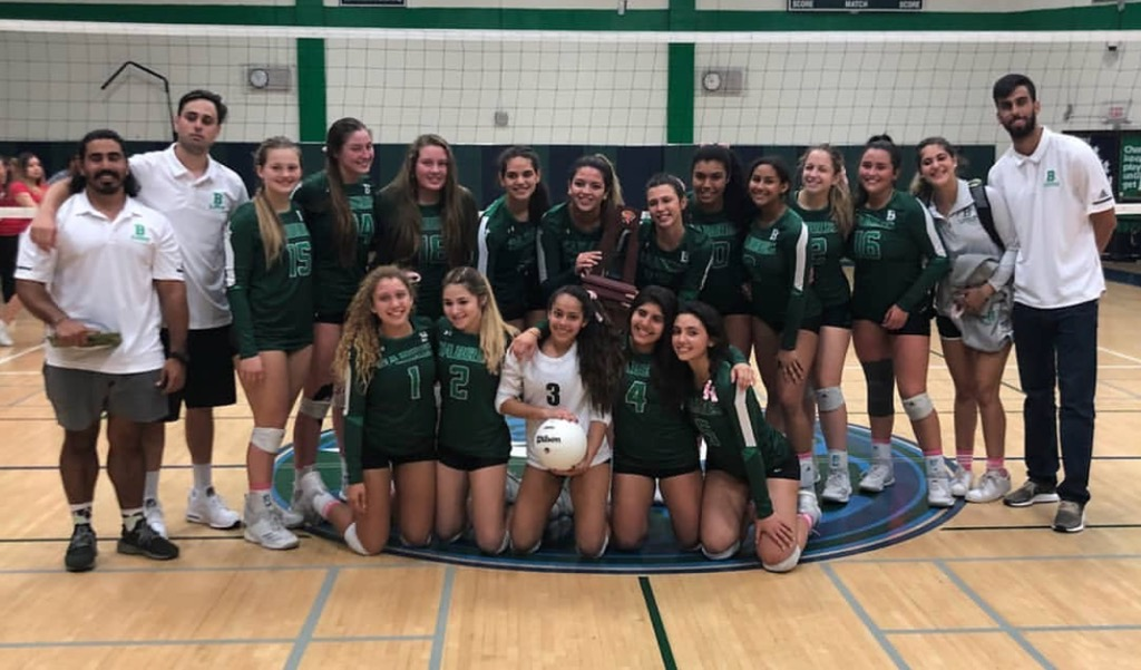 Volleyball wins third title
