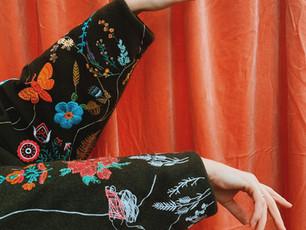 Embroidered Sapporo Coat