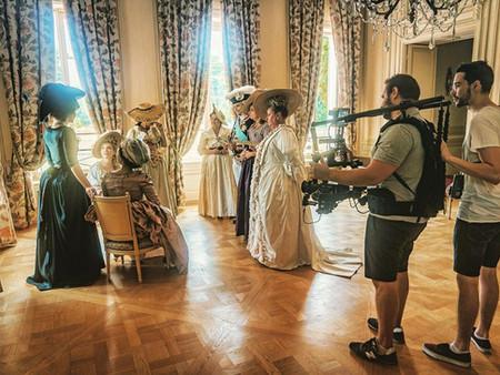 Tournage du Trailer : Madame Elisabeth, mon Ange