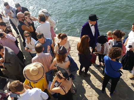 13 octobre : anniversaire des 2 ans de l'Inconnue de la Seine