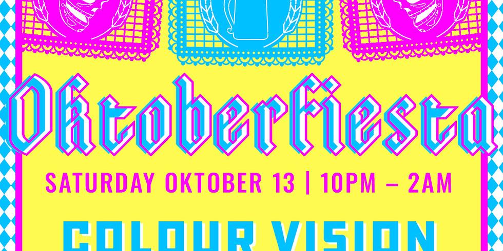 XELAS presents OKTOBERFIESTA w/ Colour Vision, Sabio & Air Zaïre