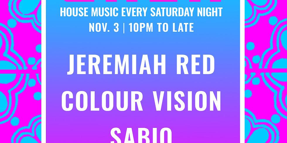 XELAS presents CASA w/ Jeremiah Red + Colour Vision + Sabio