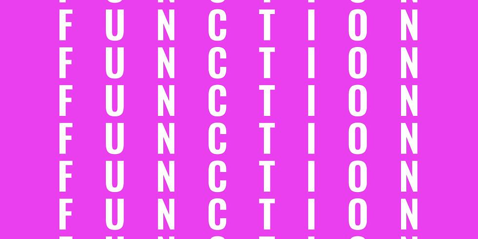 XELAS presents FUNCTION w/ WET HAND DAN + VADE