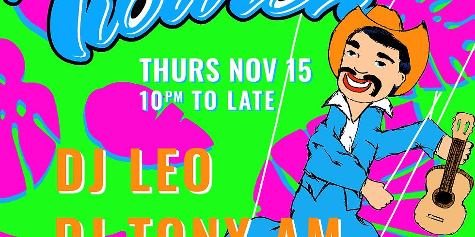 XELAS presents Tiburón w/ DJ LEO + DJ TONY AM