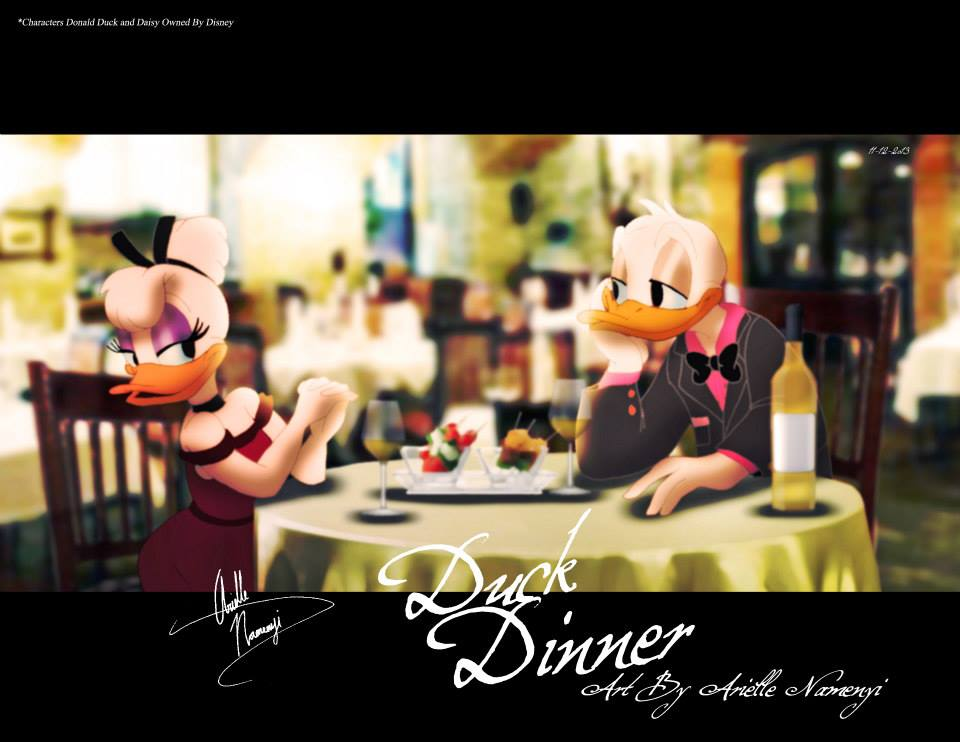 Duck Dinner (Donald and Daisy)
