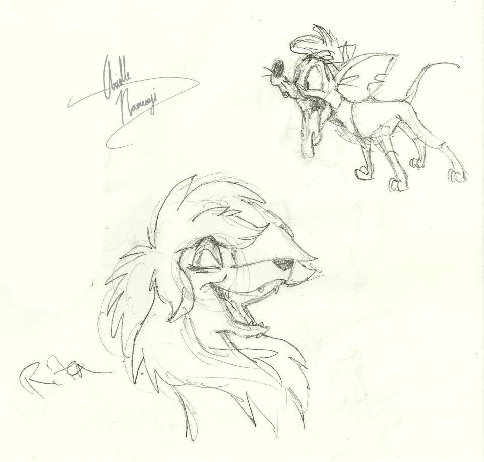 """Sketch """"Rita and Tito"""""""