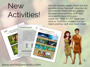 New Free Activities!