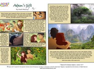 NEW Adam's Gift Comic!