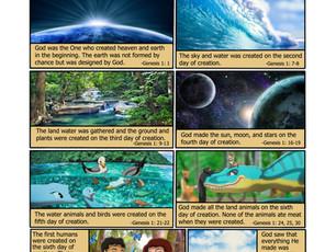 God's Creation Comic