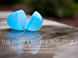 The Empty Egg Easter Story