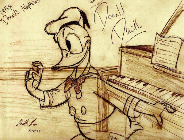 Donald Duck Sketch