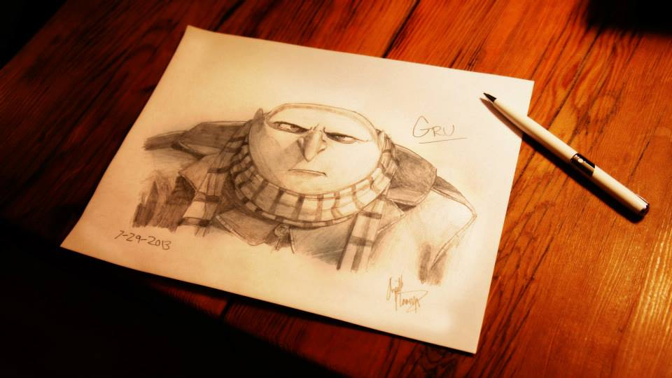 "Sketch of ""Gru"""