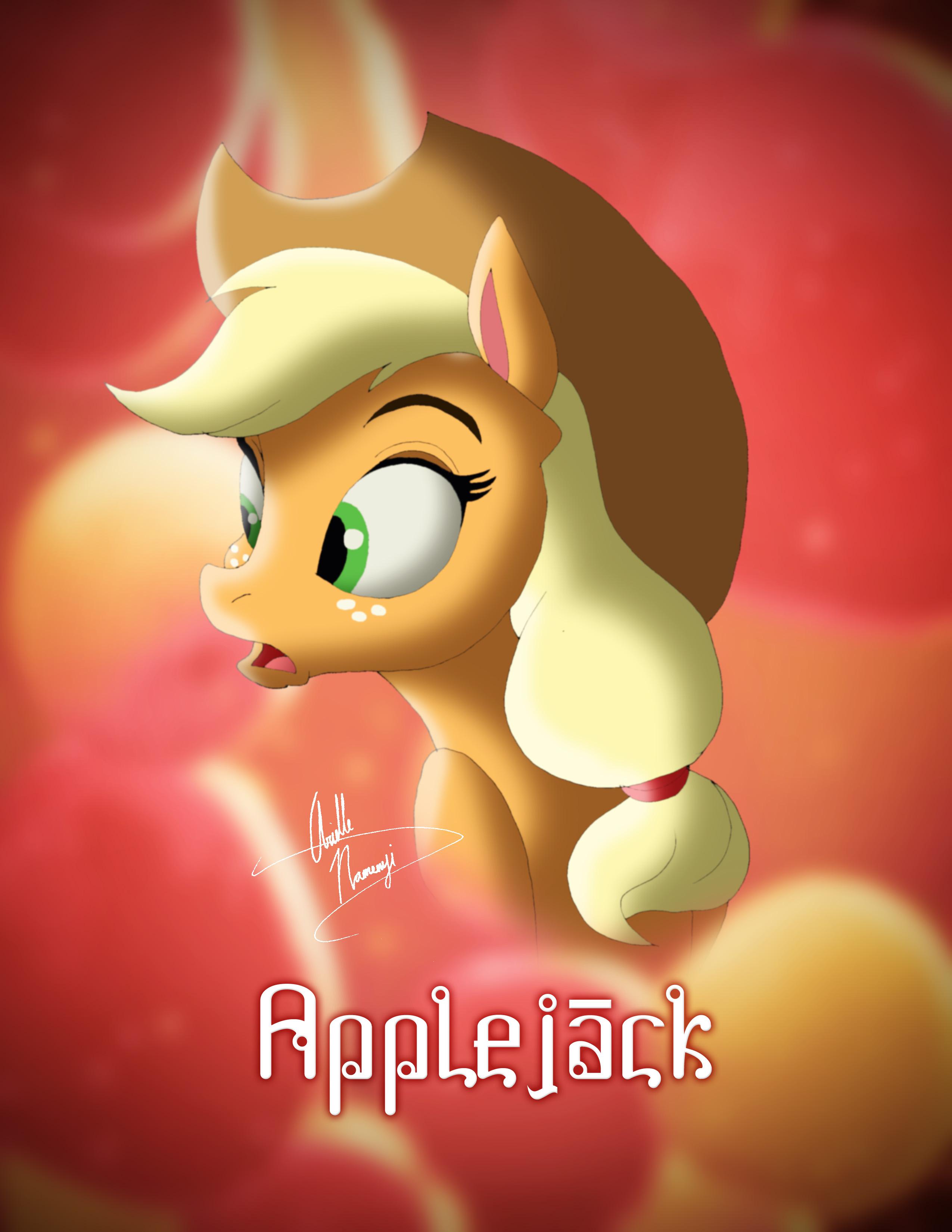 Applejack Disney Style