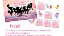 All New Pegasus Princesses Games!