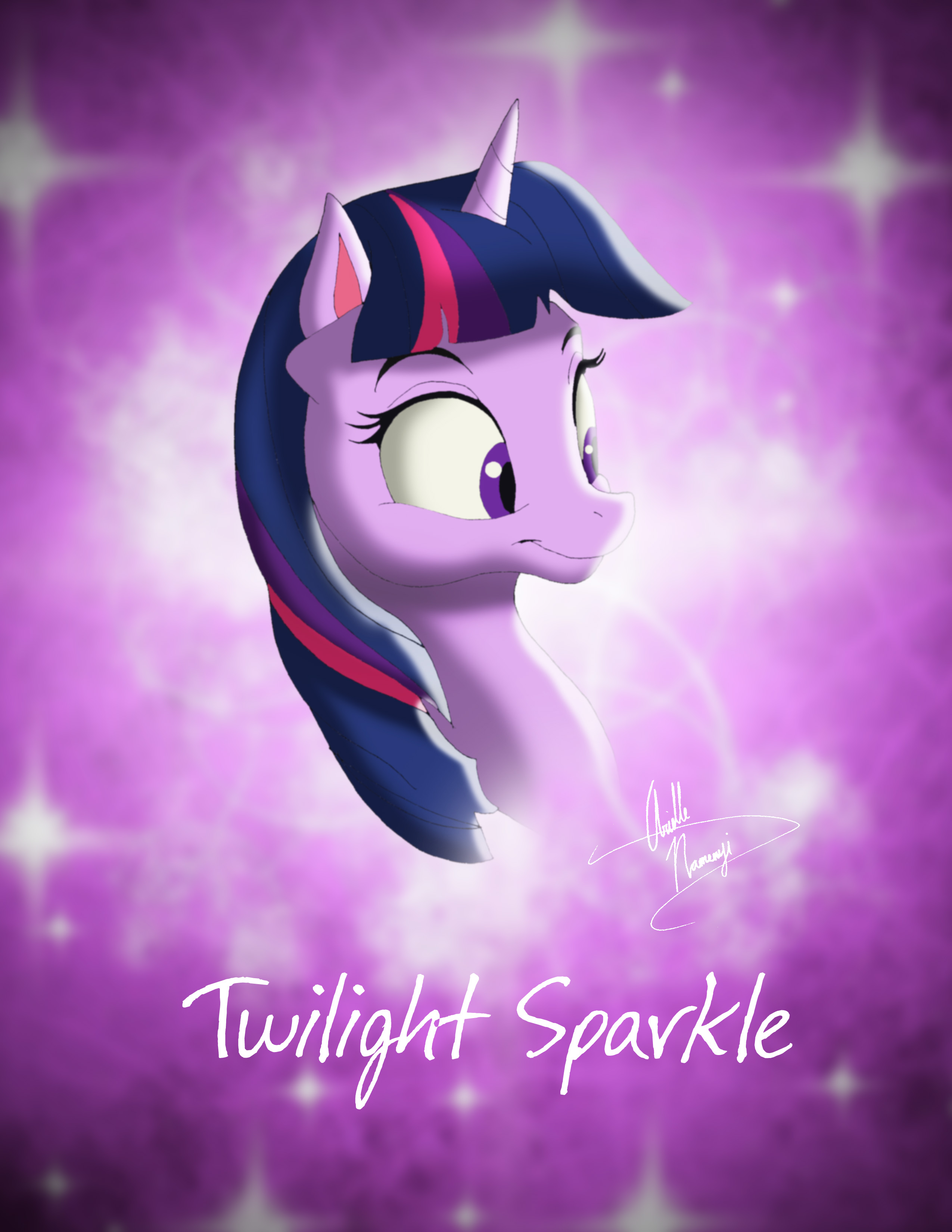 Twilight Sparkle Disney Style
