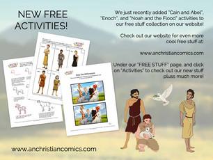 Free Printable Activities!
