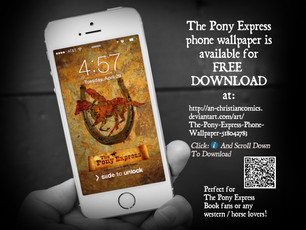 The Pony Express Phone Wallpaper
