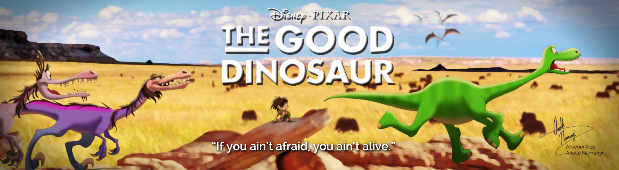 The Good Dinosaur Banner 3