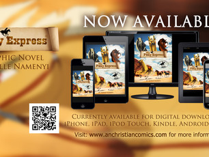 """""""The Pony Express"""" Book Now Available!"""