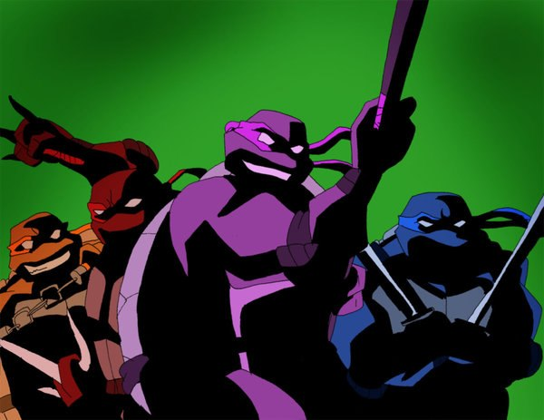 TMNT color coded