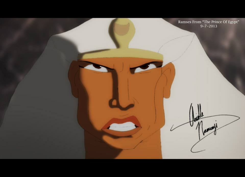 "Ramses from ""The Prince of Egypt"""