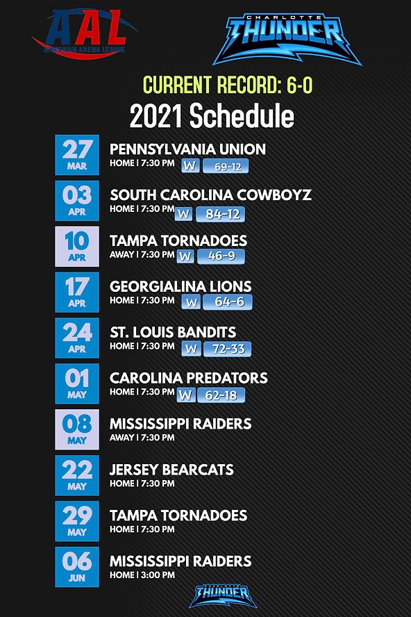 Copy of Football  team Schedule Template