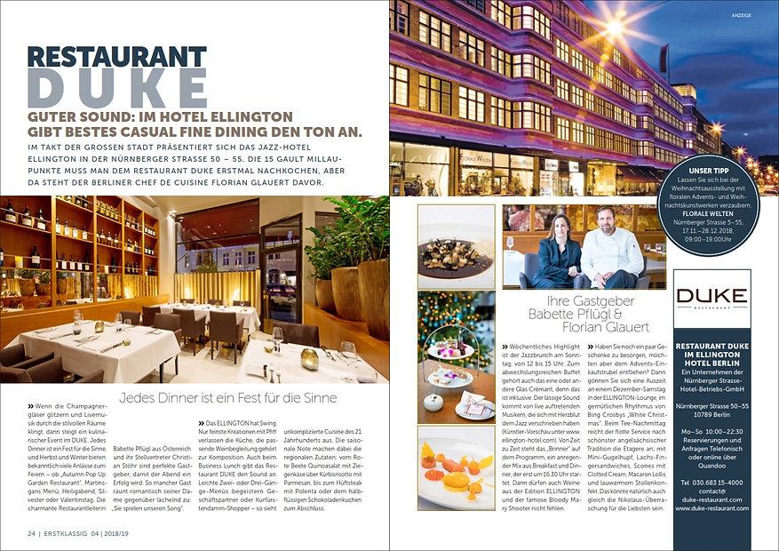 13 Erstklassig Restaurant Duke im Elling