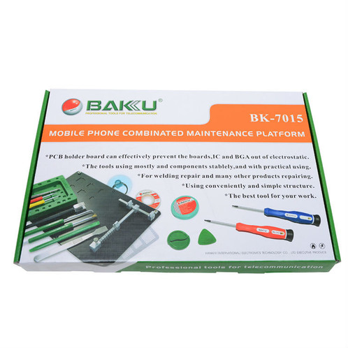 BAKU BK-7015 15 pieces for one Screwdriver Set Repairing Kit Tools