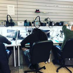 Advance micro soldering training at MPRT