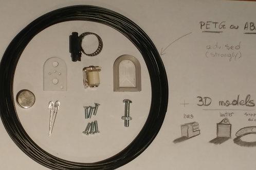 Kit a imprimer en 3D pour lumiere avant SANS FILAMENT