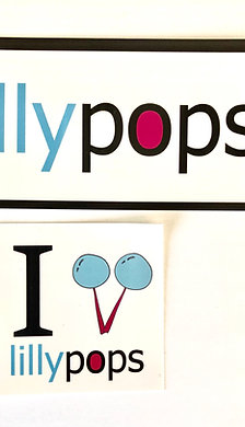 Awesome Lillypops Computer Stickers