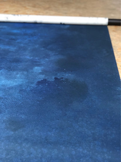 107 - Midnight Vintage - Small 1.65 x 2.55 cm