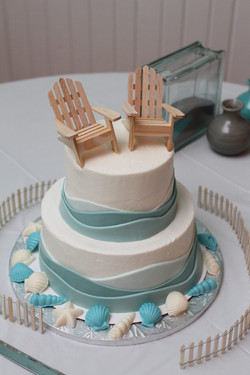 Small but awesome wedding cake!