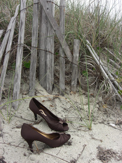 Barefoot weddings (almost) mandatory