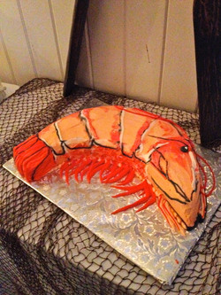 Shrimp cake!