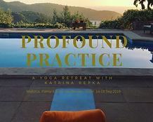 Profound practice Katrina 14-18 sep 2019
