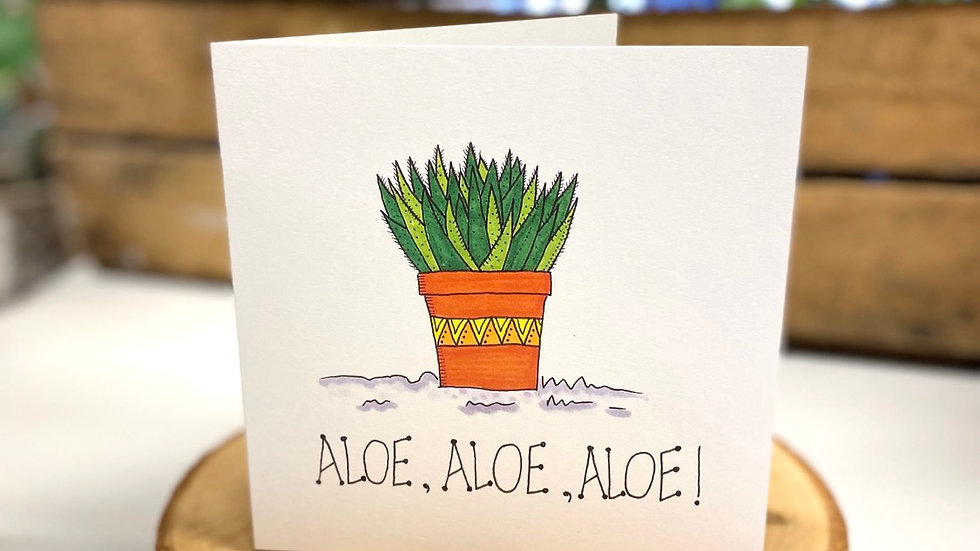 Aloe Aloe Aloe