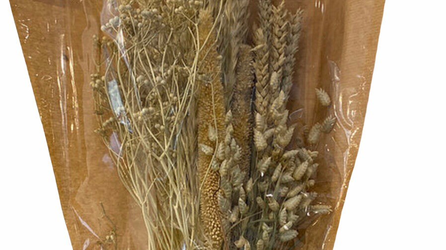 Dried bleached Bouquet