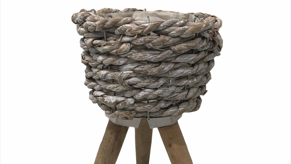 Large Three Feet Rope Basket