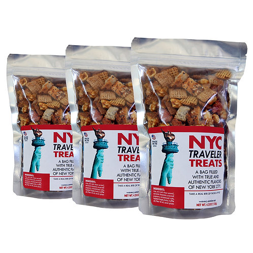 NYC Traveler Treats - 3 Pack