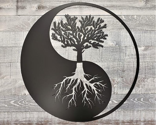 Custom Yin Yang Tree