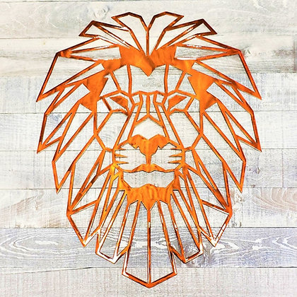 Custom Geometric Lion