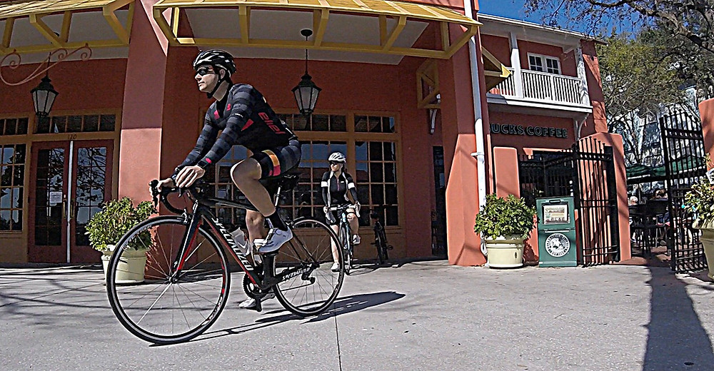 Bike riding from your hotel in Disney World