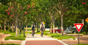 Cycling in the City of Winter Garden, Florida