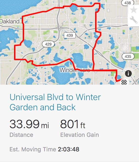 Universal Blvd. Orlando map
