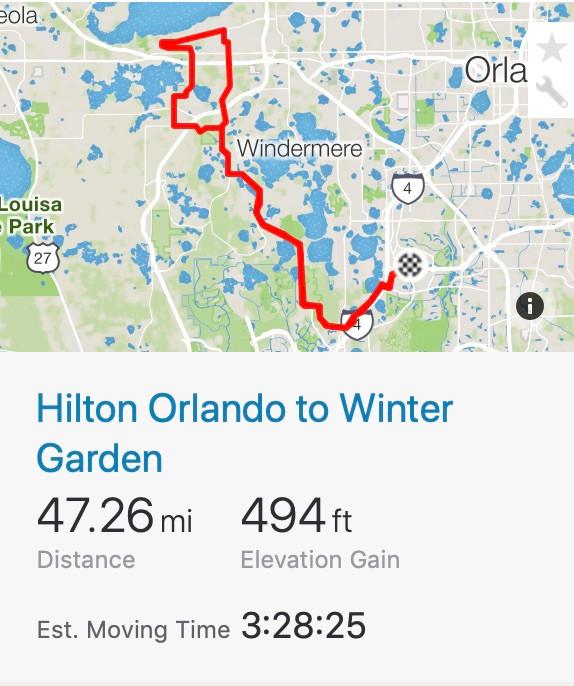Hilton Orlando wo Winter Garden Florida