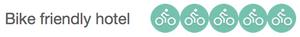 Bike friendly hotel rating